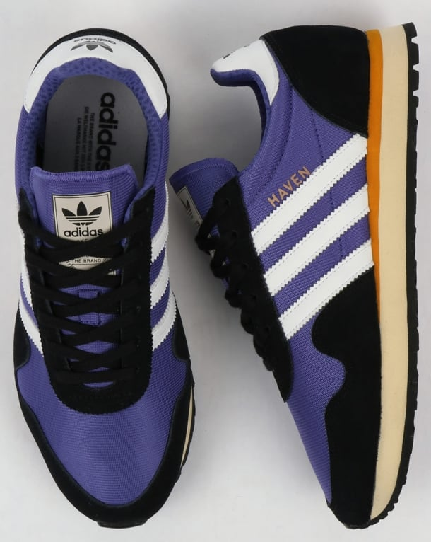 Adidas Haven Trainers Energy Ink/White/Black
