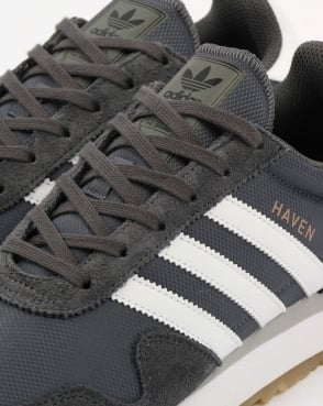 Adidas Haven Trainers Grey/White/Gum