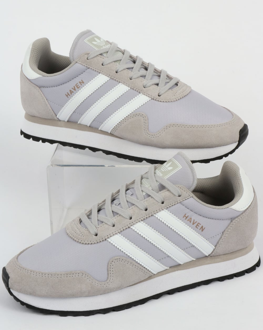 Adidas Haven Trainers Light Grey/White