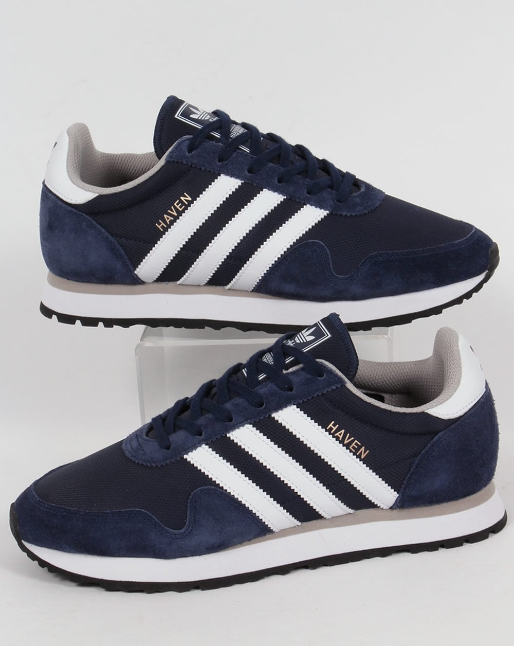 Adidas Haven Trainers NavyWhite