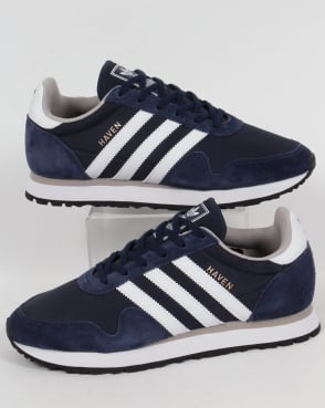 adidas Trainers Adidas Haven Trainers Navy/White