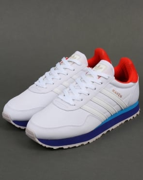 adidas Trainers Adidas Haven Trainers White - orange