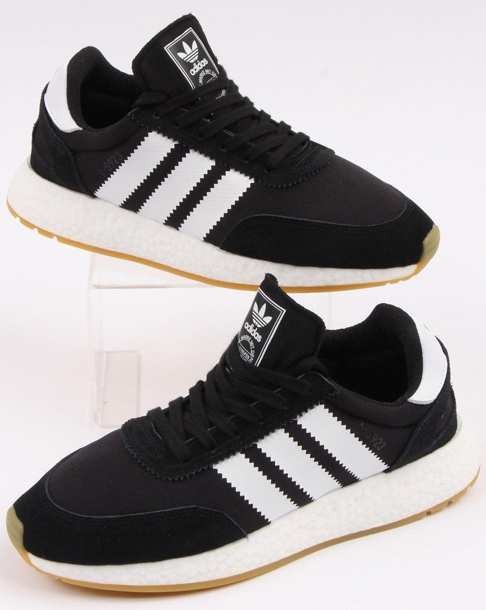 carrera Mayor Retirarse  Adidas I-5923 Trainers Black/White - Shop Adidas At 80s Casual Classics