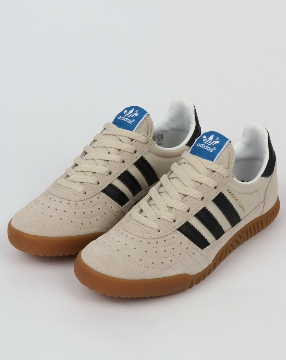 1777c64a6784b0 Adidas Indoor Super Trainers Brown,Black,shoes,squash,suede,mens