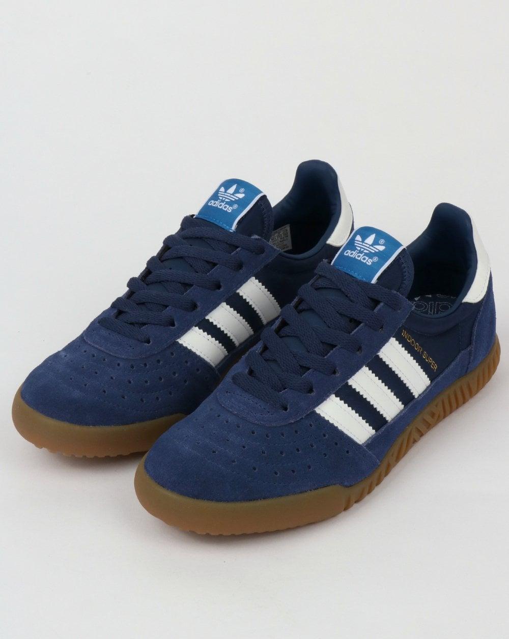 Adidas Indoor Super Trainer Indigo Blue