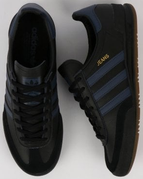 adidas Trainers Adidas Jeans Leather Trainers Black leather