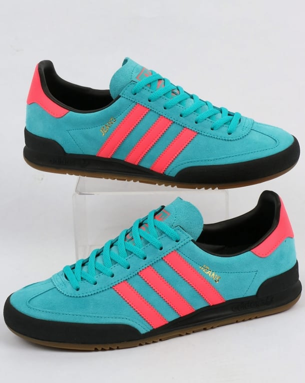 Adidas Jeans Mk1 Trainers Energy Blue/Pink