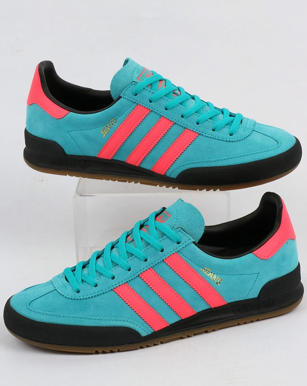 Adidas Jeans Trainers Energy Blue/Pink,shoes,