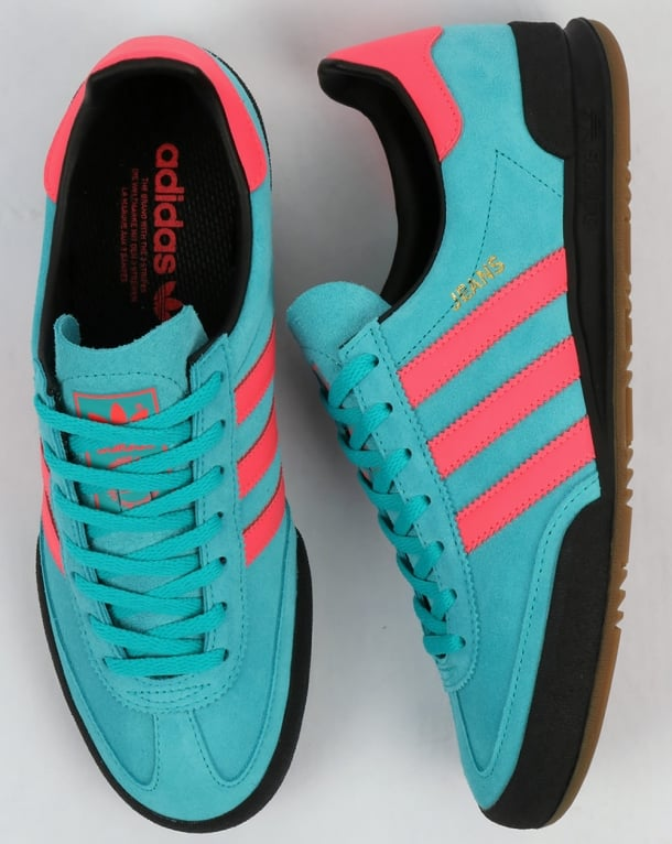 Adidas Jeans Mk2 Trainers Energy Blue/Pink