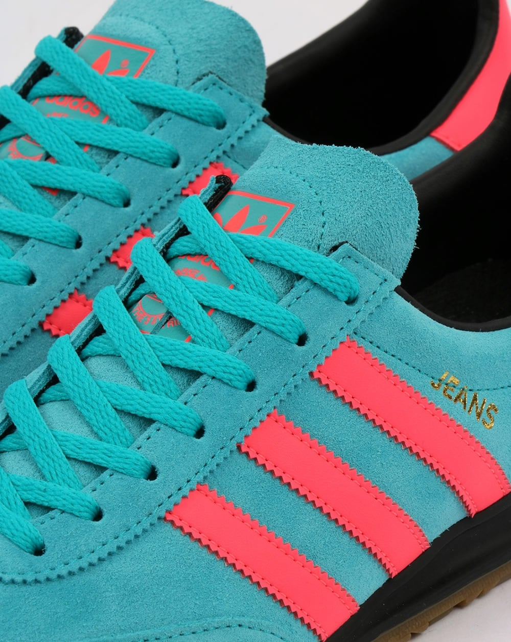 Adidas Jeans Trainers Energy Blue/Pink