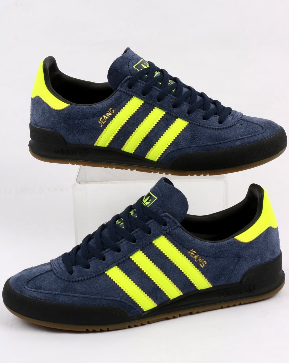 adidas dark green jeans trainers off 63