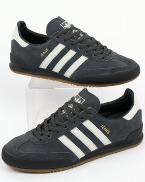 Adidas Jeans Trainers Carbon/grey/black
