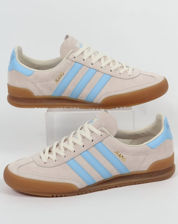 Adidas Jeans White Green Brown