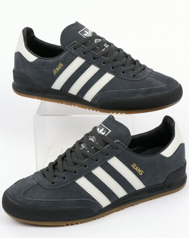 adidas jeans trainers grey