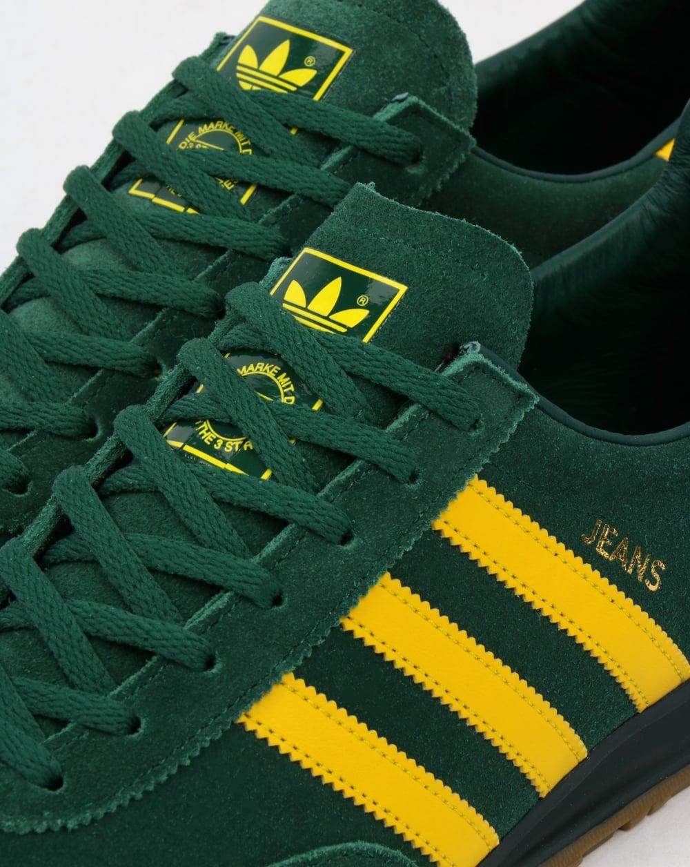 premium selection e9b0f 6c8c6 Adidas Jeans Trainers Mk2 GreenYellow