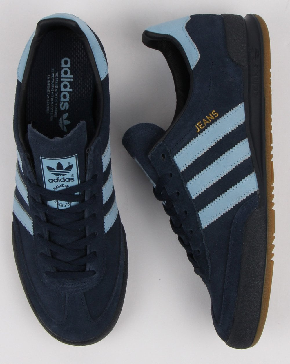 Adidas Jeans Trainers Navy/Sky