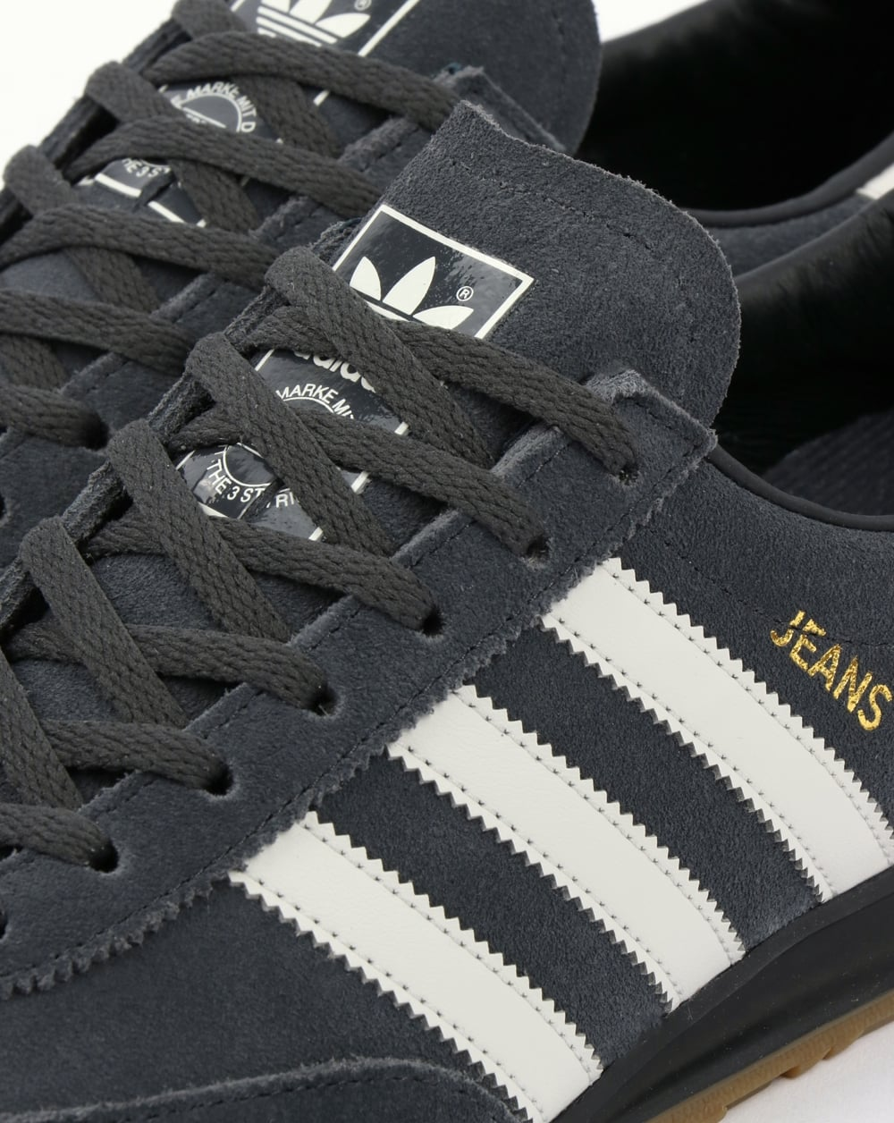 Adidas Jeans Trainers Grey , Carbon