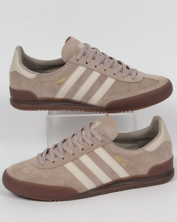 Adidas Jeans Trainers Stone Natural