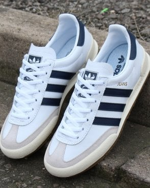 reputable site 62cf9 09006 adidas Trainers Adidas Jeans Trainers White navy