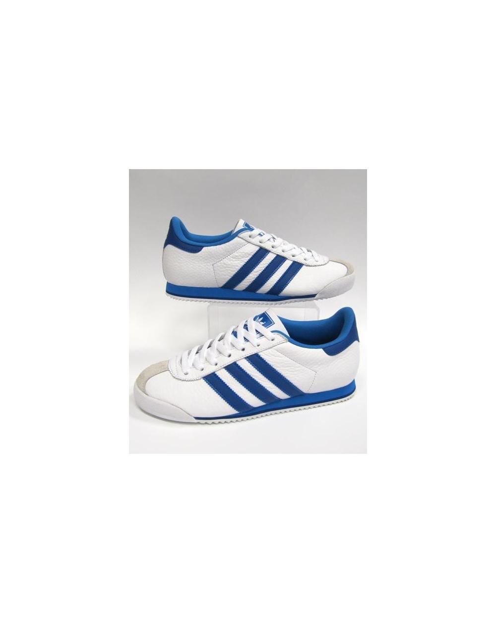 159b99e51f3 Adidas Kick Trainers White royal Blue