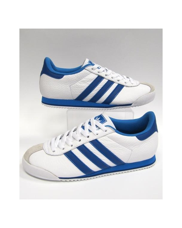 Adidas Kick Trainers White/royal Blue