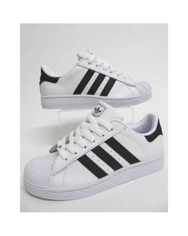 Adidas Kids Superstar 2 Trainers White/black
