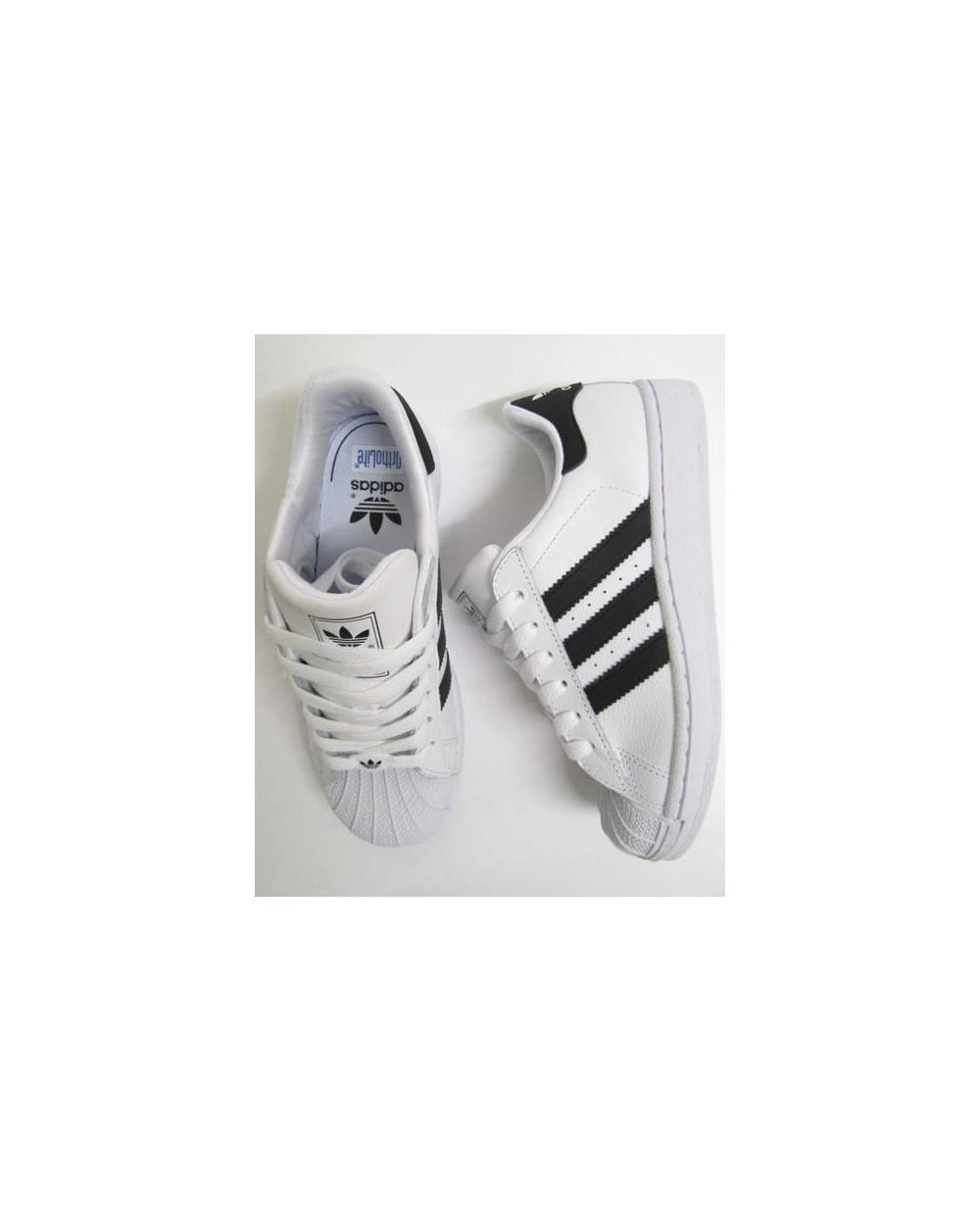 Adidas Superstar Tamaño Blanco Y Negro 2 t0u2rOfWTR