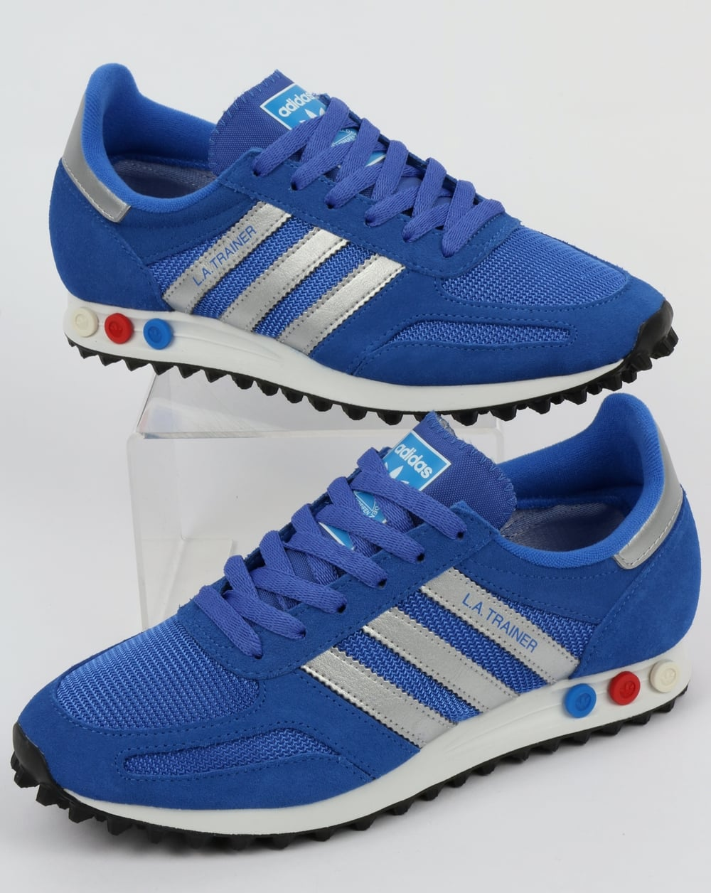 adidas la trainers mens blue