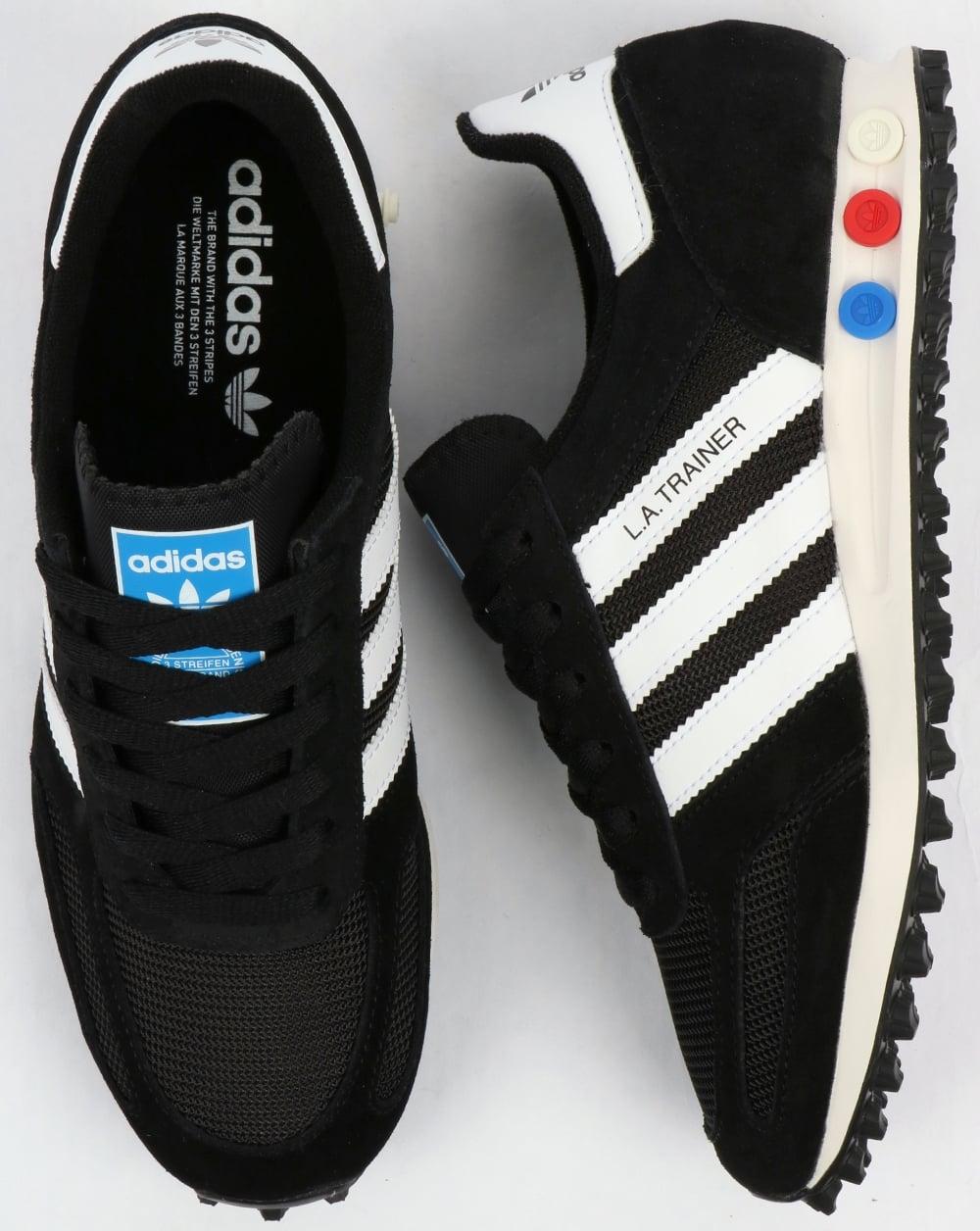 buy popular d7959 8d099 adidas Trainers Adidas LA Trainer OG Black White