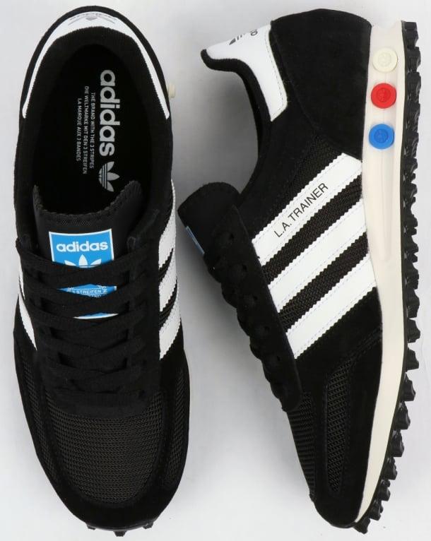 buy popular 1a660 c9cc8 adidas Trainers Adidas LA Trainer OG Black White