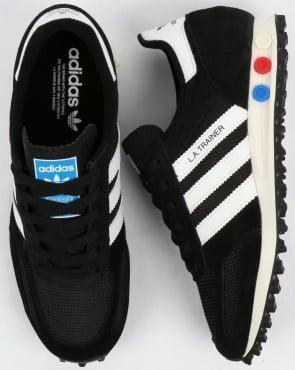 adidas Trainers Adidas LA Trainer OG Black/White