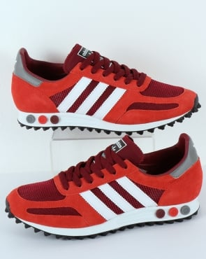 Adidas LA Trainer OG Burgundy Red