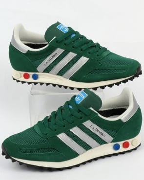 adidas Trainers Adidas La Trainer Og Green/silver
