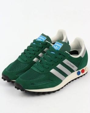 adidas Trainers Adidas La Trainer Og Green/silver