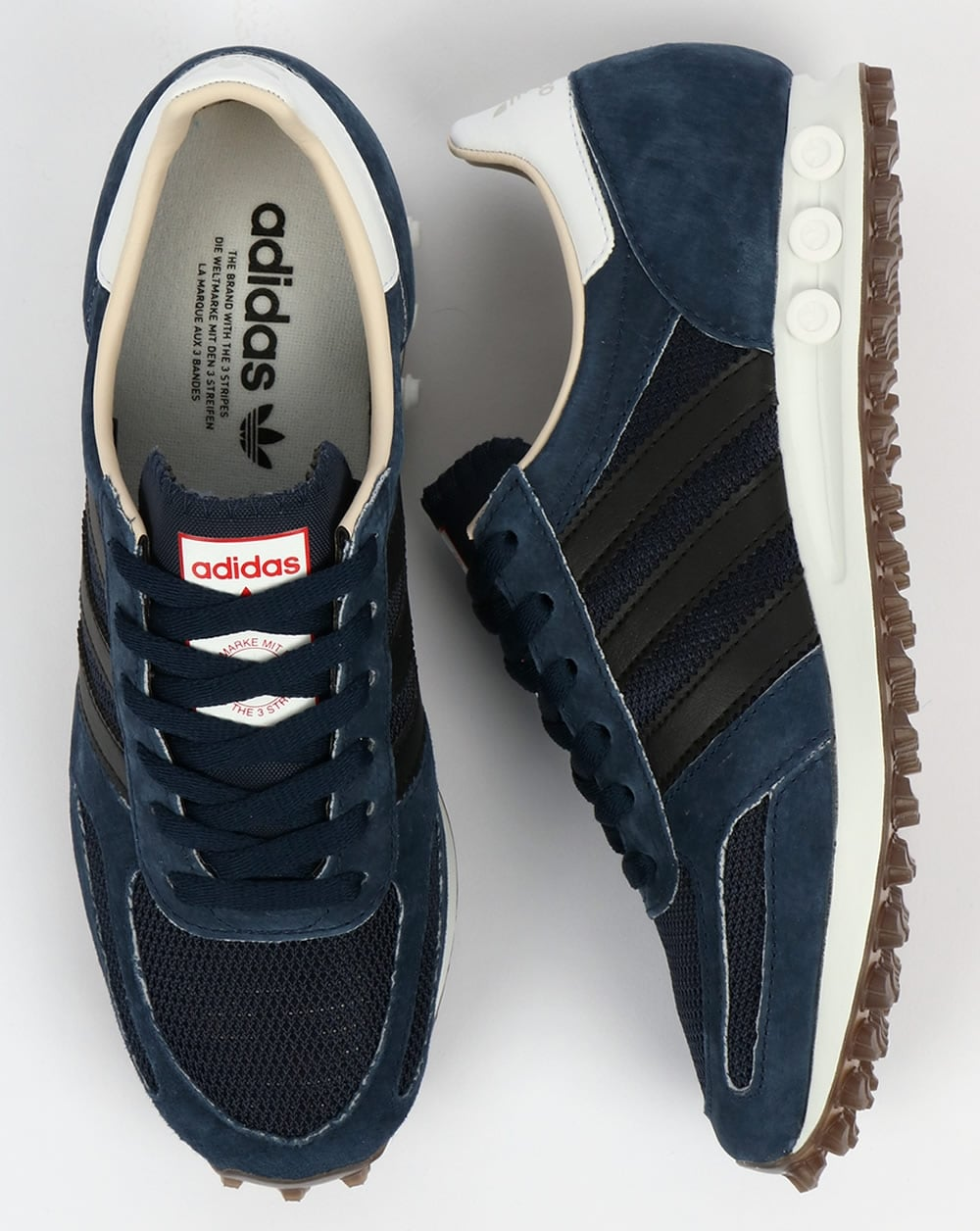 047a0fddc2 Adidas LA Trainer OG Navy Black