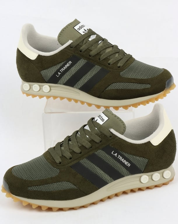adidas l.a trainer green