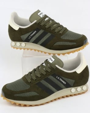 adidas Trainers Adidas La Trainer Og St Major Green/black