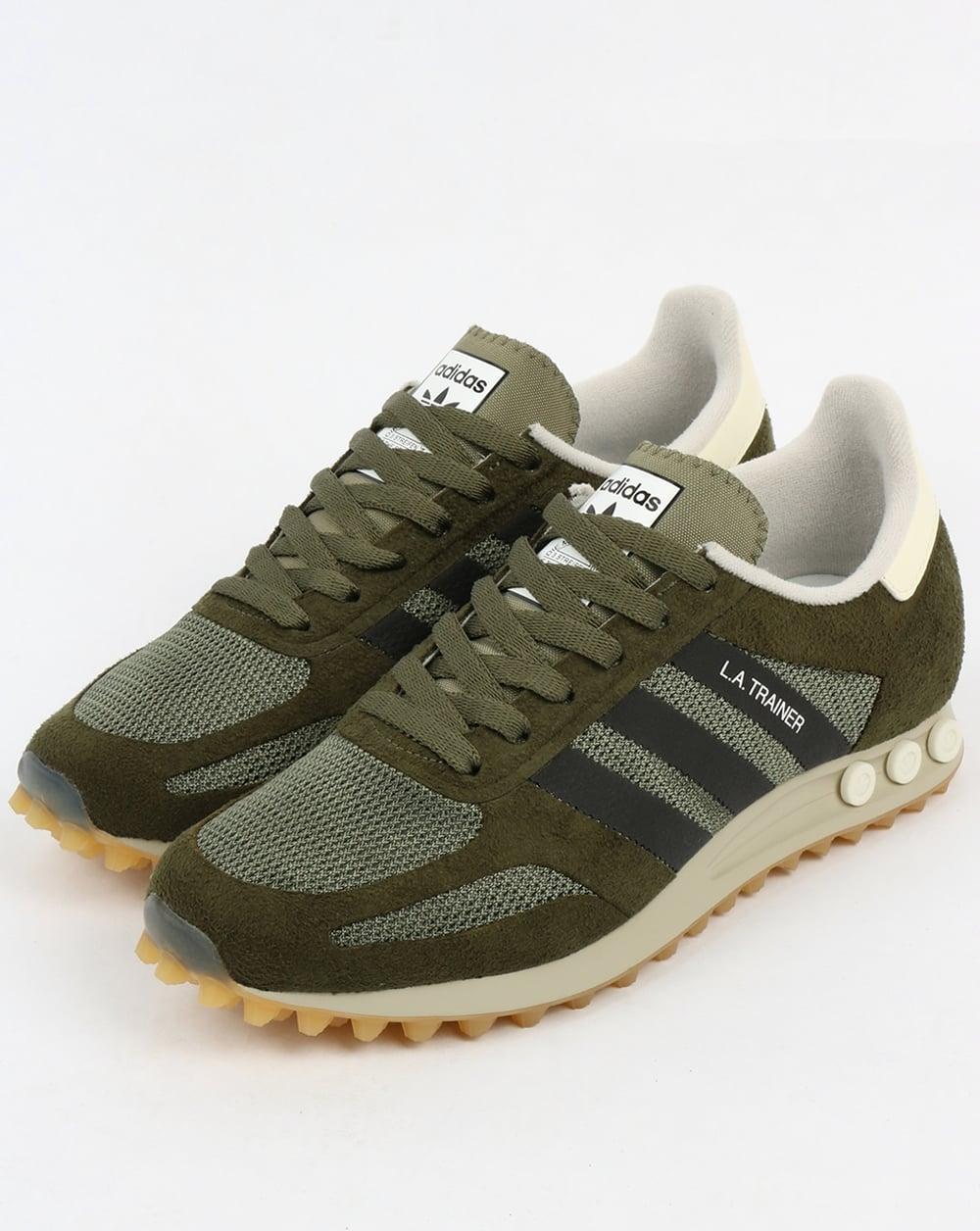 adidas la trainer og st major green black trainers mens running peg. Black Bedroom Furniture Sets. Home Design Ideas