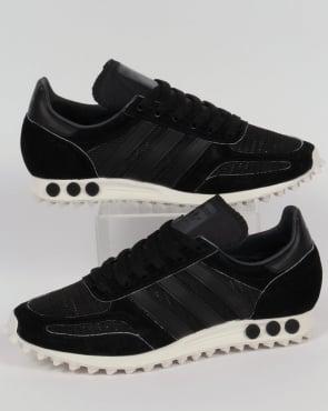 adidas Trainers Adidas LA Trainer OG Trainers Black/Black/Grey
