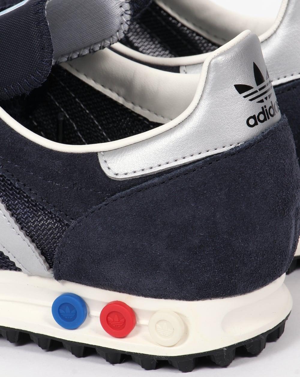 c6d663ee4d8d Adidas LA Trainer OG Trainers Navy Silver