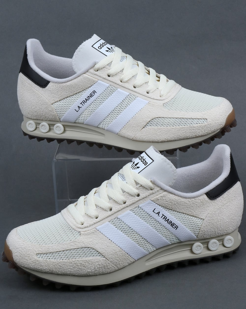 Adidas La Trainer OG Trainers Off White/White/Gum