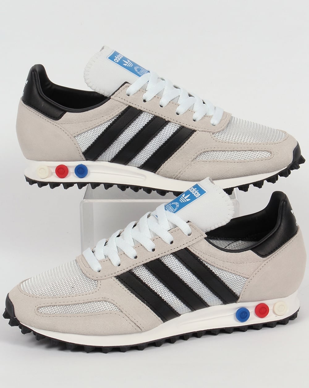 e87cd44e7be adidas Trainers Adidas LA Trainer OG Trainers White Black