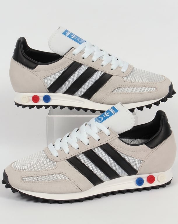 Adidas LA Trainer OG Trainers White Black,shoes,original,runner,mens 3f7e45903c