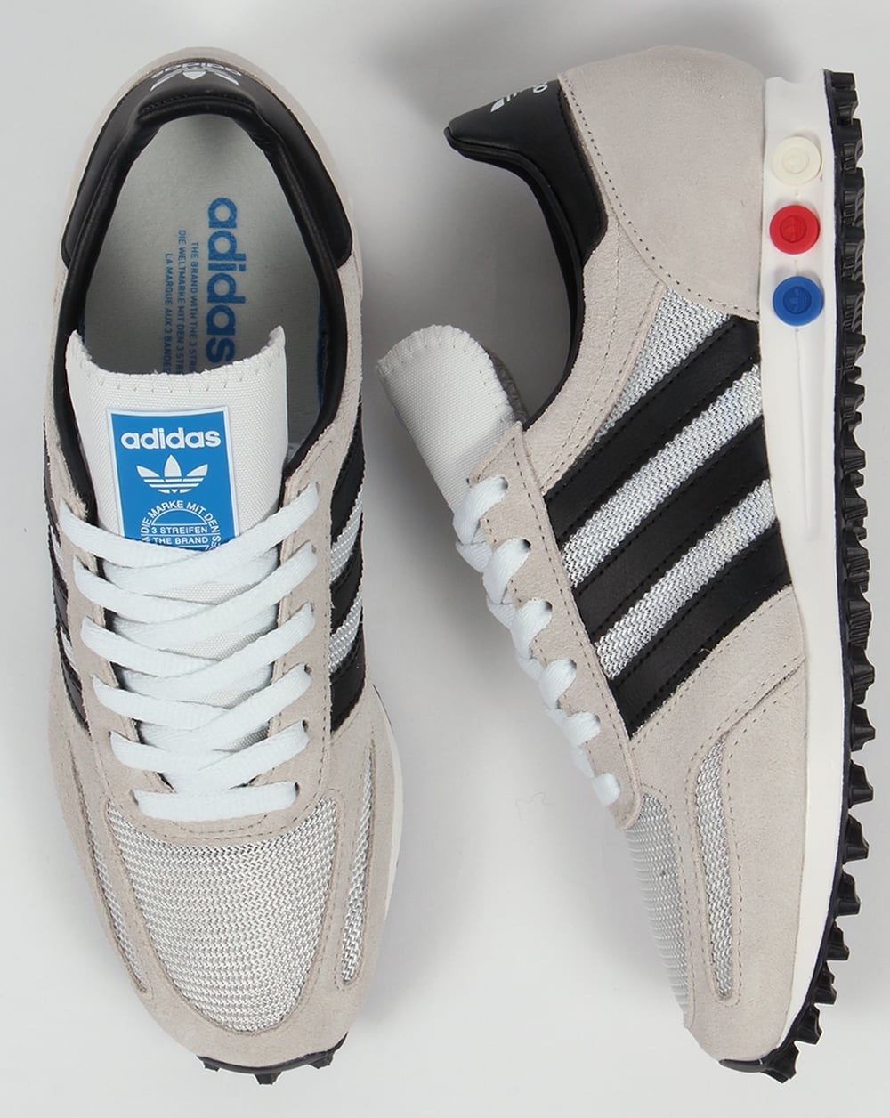 70340331fe0 Adidas La Trainer White Leather kenmore-cleaning.co.uk