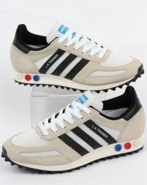 adidas Trainers Adidas La Trainer Og Vintage White/black