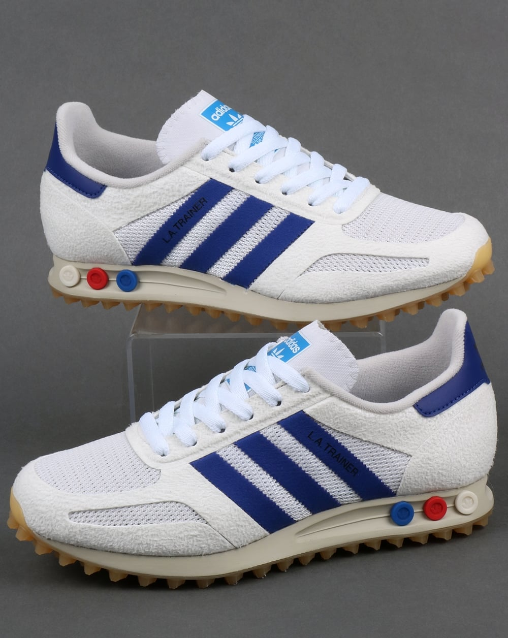 best website 5ce9e 1071a adidas Trainers Adidas La Trainer OG Vintage White Mystery Ink