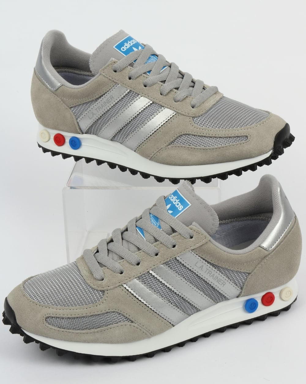 Adidas LA Trainer Solid GreySilver