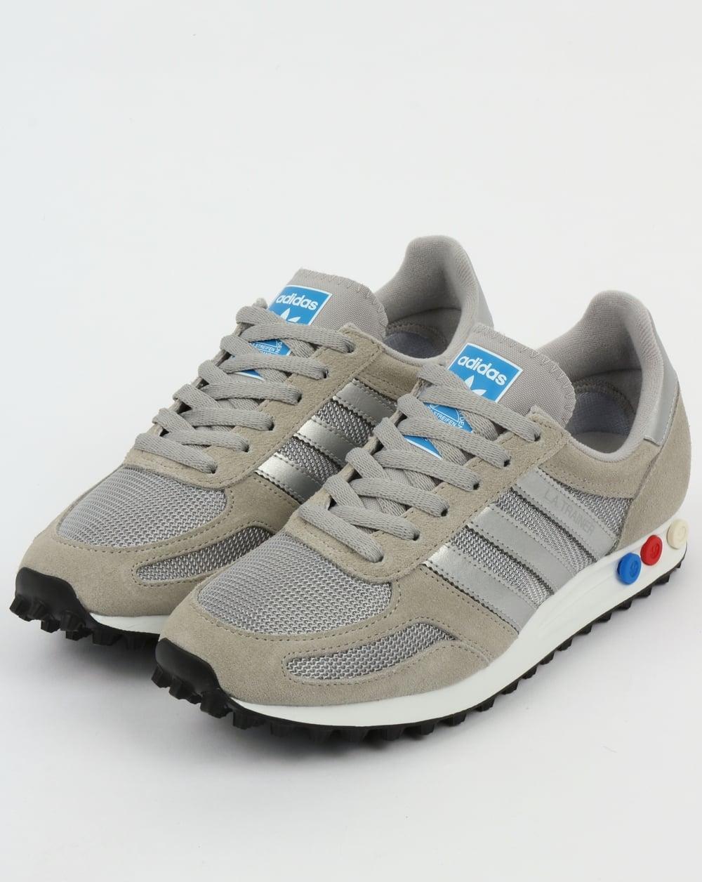 acheter populaire 3e563 8fc44 Adidas LA Trainer Solid Grey/Silver