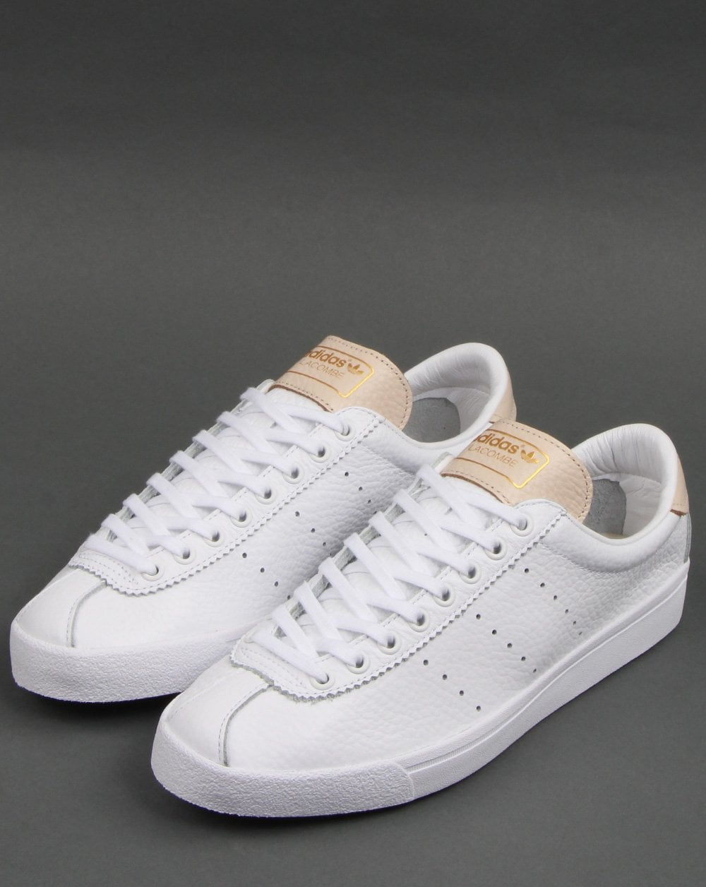 Adidas Lacombe Trainers White/Pink