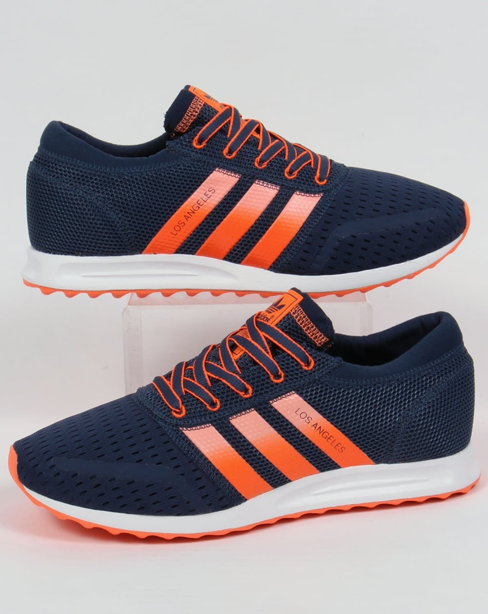 pretty nice 54a0d a9fae adidas Trainers Adidas Los Angeles Trainers Mineral Blue Sun Glow